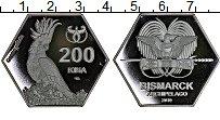 Изображение Монеты Австралия и Океания Папуа-Новая Гвинея 200 кина 2019 Посеребрение Proof