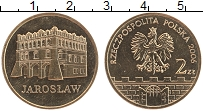 Изображение Мелочь Польша 2 злотых 2006 Латунь UNC- Древние города Польш