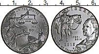 Изображение Монеты США 1/2 доллара 2015 Медно-никель UNC 225 лет службе федер
