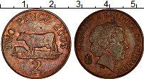 Изображение Монеты Гернси 2 пенса 2003 Бронза XF