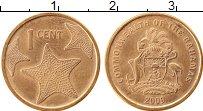 Продать Монеты Багамские острова 1 цент 2009 сталь с медным покрытием
