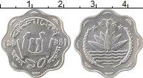 Изображение Монеты Азия Бангладеш 10 пойша 1994 Алюминий UNC-