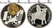 Изображение Монеты Германия Медаль 2002 Посеребрение Proof- Европейская валюта,