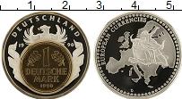 Изображение Монеты Германия Медаль 1990 Посеребрение Proof- Европейская валюта,