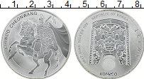 Изображение Монеты Южная Корея 1 унция 2017 Серебро UNC