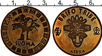 Изображение Монеты Африка Гана 1 суома 2012 Латунь XF