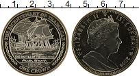 Изображение Монеты Остров Мэн 1 крона 2005 Медно-никель UNC 200 лет Трафальгарск