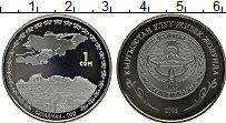 Продать Монеты Киргизия 1 сом 2009 Медно-никель