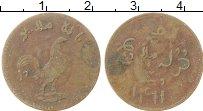 Изображение Монеты Нидерландская Индия 1 кеппинг 1804 Медь VF Малакка