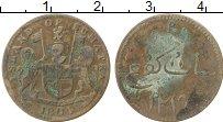 Изображение Монеты Азия Суматра 1 кеппинг 1804 Медь VF