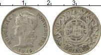 Изображение Монеты Португалия 10 сентаво 1915 Серебро XF-