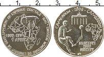 Изображение Монеты Камерун 1500 франков 2006 Медно-никель UNC- Чемпионат Мира по фу