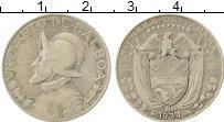 Изображение Монеты Панама 1/4 бальбоа 1934 Серебро VF Васко Нуньес де Баль