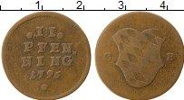 Изображение Монеты Бавария 2 пфеннига 1796 Медь VF