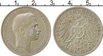 Изображение Монеты Саксе-Кобург-Гота 2 марки 1905 Серебро XF Карл Эдвард