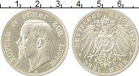 Изображение Монеты Липпе-Детмольд 3 марки 1913 Серебро XF