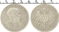 Продать Монеты Саксе-Мейнинген 5 марок 1901 Серебро