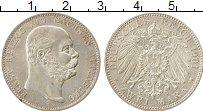 Изображение Монеты Германия Саксен-Альтенбург 2 марки 1901 Серебро UNC-