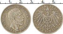 Изображение Монеты Германия Шварцбург-Зондерхаузен 2 марки 1896 Серебро XF-