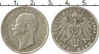Изображение Монеты Германия Анхальт 2 марки 1904 Серебро XF