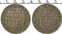 Изображение Монеты Ангола 12 макутас 1796 Серебро XF