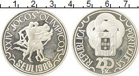 Изображение Монеты Португалия 250 эскудо 1988 Серебро Proof- Олимпийские игры, бе