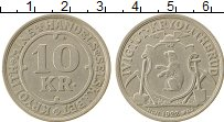 Изображение Монеты Гренландия 10 крон 1922 Медно-никель XF