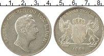 Изображение Монеты Баден 1 талер 1833 Серебро XF