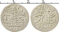 Изображение Монеты Турция 5 пара 1808 Серебро XF 1222/1 Мустафа IV. К
