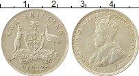 Изображение Монеты Австралия 1 шиллинг 1912 Серебро XF Георг V