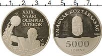 Изображение Монеты Венгрия 5000 форинтов 2008 Серебро Proof- Олимпийские игры, во