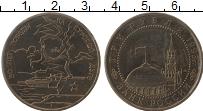 Изображение Монеты Россия 3 рубля 1995 Медно-никель UNC 50 лет победе на Кур
