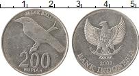 Изображение Монеты Индонезия 200 рупий 2003 Алюминий XF