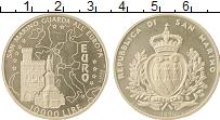 Изображение Монеты Сан-Марино 10000 лир 1996 Серебро Proof-