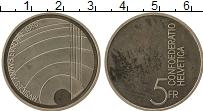 Изображение Монеты Швейцария 5 франков 1985 Медно-никель UNC-