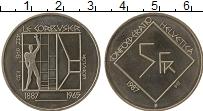 Изображение Монеты Швейцария 5 франков 1987 Медно-никель UNC- 100 лет со дня рожде