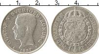 Изображение Монеты Швеция 1 крона 1937 Серебро XF Густав V
