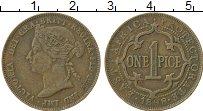 Продать Монеты Восточная Африка 1 пайс 1898 Бронза