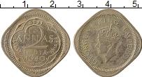 Изображение Монеты Индия 2 анны 1940 Медно-никель VF