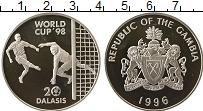 Продать Монеты Гамбия 20 даласи 1996 Серебро