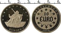Изображение Монеты Германия Жетон 1998 Медно-никель Proof-