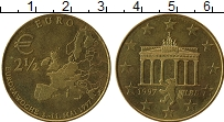 Изображение Монеты Германия Жетон 1997 Латунь UNC- UNUSUAL, 2 1/2 евро