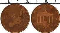 Изображение Монеты Германия Жетон 1997 Медь UNC- UNUSUAL, 1 1/2 евро
