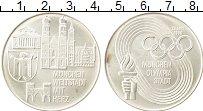 Изображение Монеты Германия Жетон 1966 Серебро UNC- Олимпийские игры
