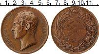 Изображение Монеты Бельгия Медаль 1860 Медь XF