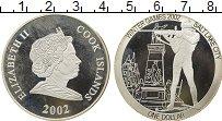 Изображение Монеты Острова Кука 1 доллар 2002 Серебро Proof- Олимпийские игры, би