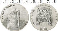 Изображение Монеты Азия Южная Корея 1 унция 2019 Серебро UNC