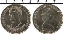 Изображение Монеты Тристан-да-Кунья 25 пенсов 1980 Медно-никель UNC-