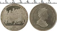 Изображение Монеты Острова Кука 1 доллар 2007 Медно-никель UNC- Адмирал Нельсон