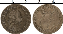 Изображение Монеты Франция 1/10 экю 1716 Серебро VF+ Людовик XV